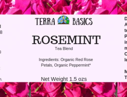 Rosemint Tea